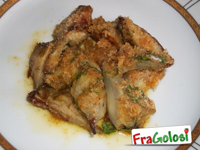 Carciofi con la mollica ricetta di for Carciofi ricette