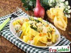Pappardelle con Zucchine e Pesce Spada