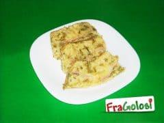 Timballo di Fagiolini e Pancetta