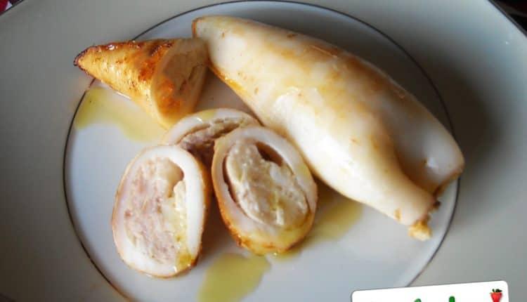 Calamari ripieni di formaggio