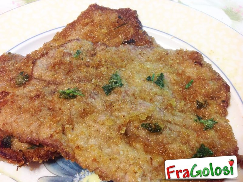 Cotolette fritte alle Messinese