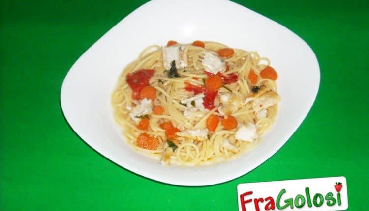Spaghetti con il persico