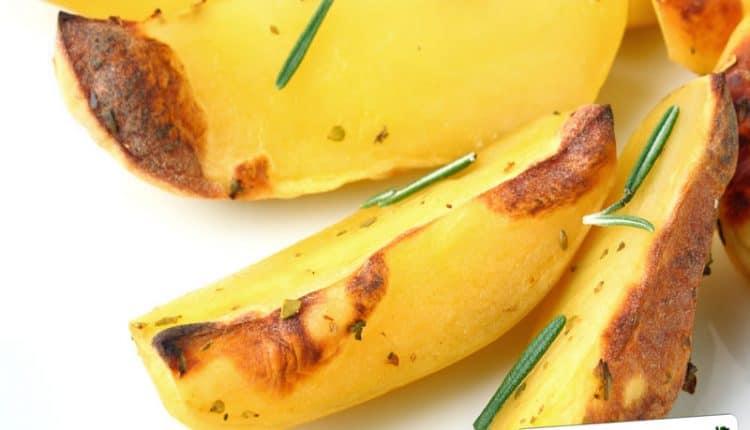 Come rendere dorate le patate al forno