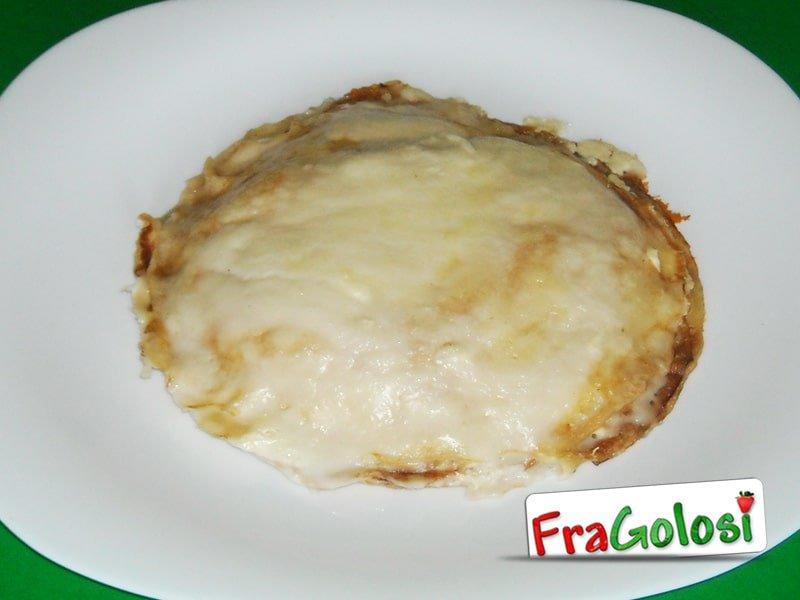 Pasticcio di lasagne ai quattro formaggi