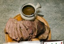 Roast beef all'inglese in tegame