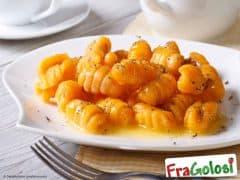 Gnocchetti di Pane con Crema di Zucca