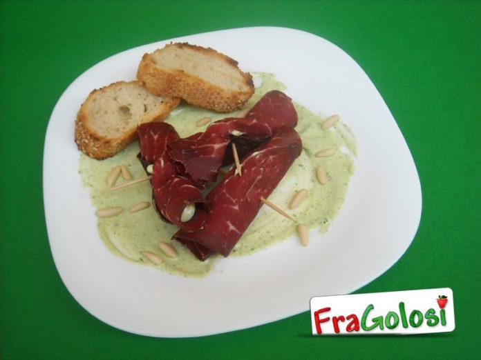Involtini di bresaola e gorgonzola
