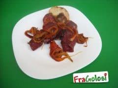 Involtini di Bresaola e Peperoni