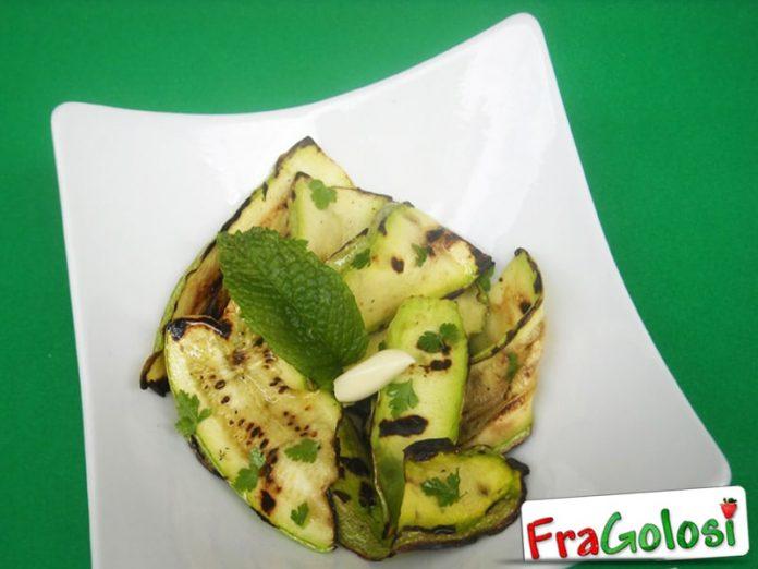 Zucchine Grigliate in Insalata