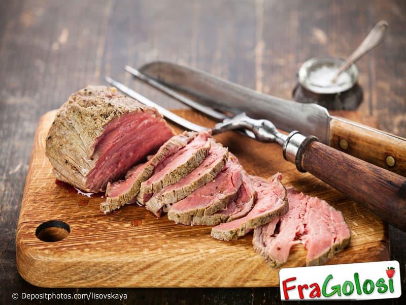 Come affettare le carni arrosto