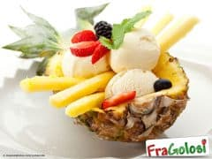 Coppe all'Ananas