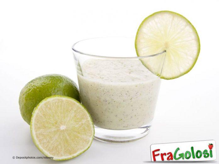 Frullato di latte e limone
