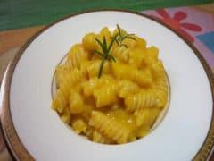 Pasta alla Crema di Zucca