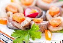 Aringhe marinate