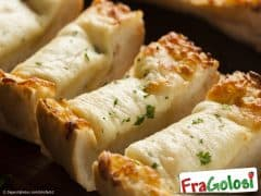 Bruschette al gorgonzola