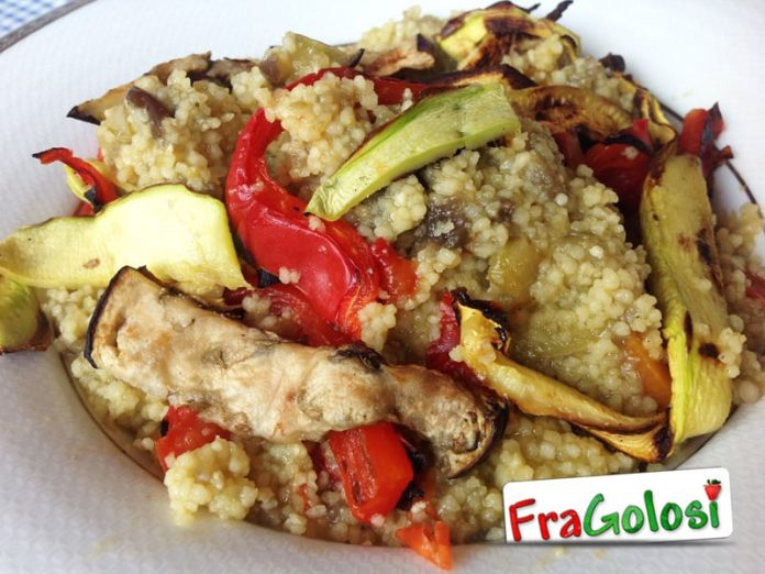 Cous cous alle verdure grigliate Light