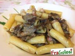 Pasta con Carciofi e Pancetta