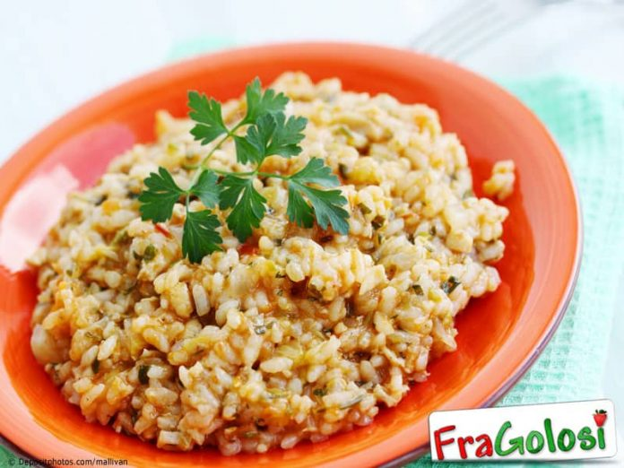 Risotto con il pollo Light