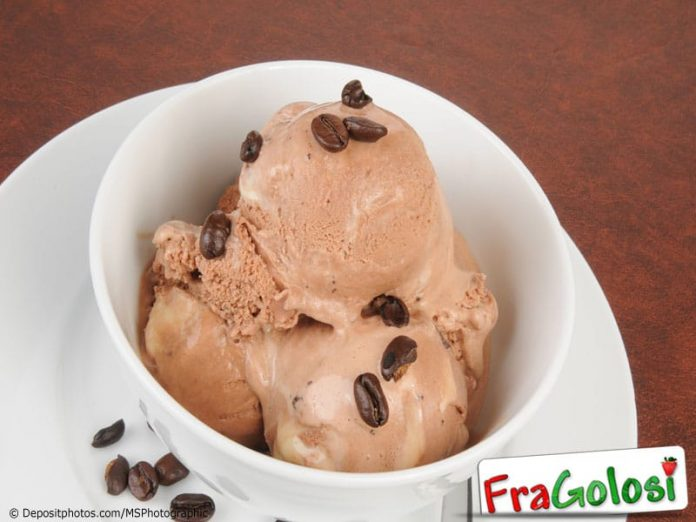 Gelato al latte e caffe Light