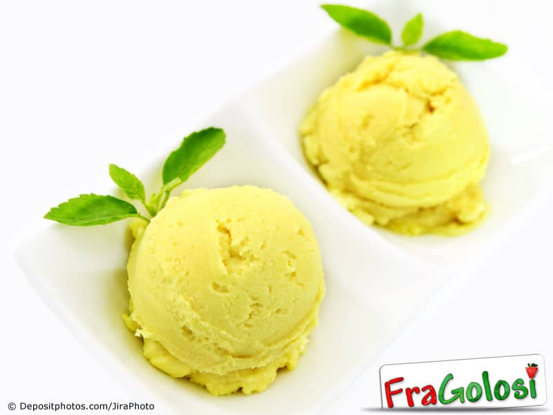 Gelato all'arancia Light