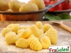 Gnocchi con Fiocchi di Patate