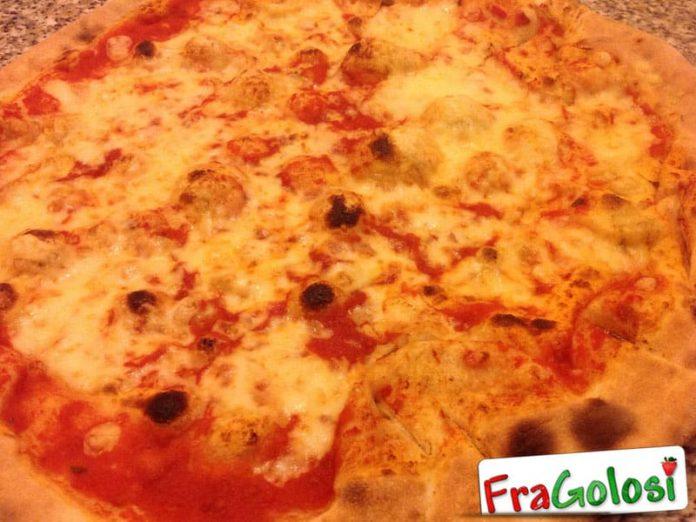 Pizza Margherita veloce