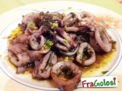 Calamari al Vino Rosso