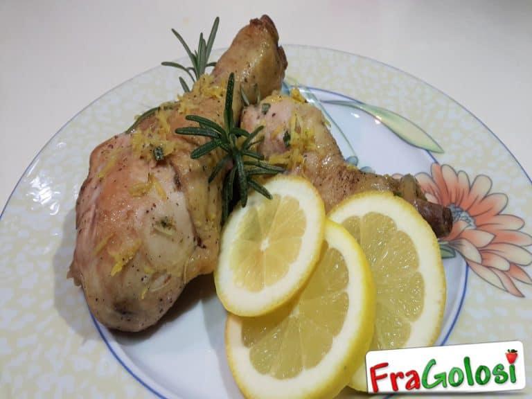 Cosce di Pollo al Limone