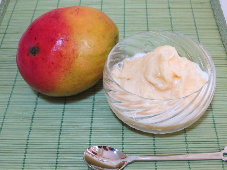 Sorbetto di Mango e Papaia