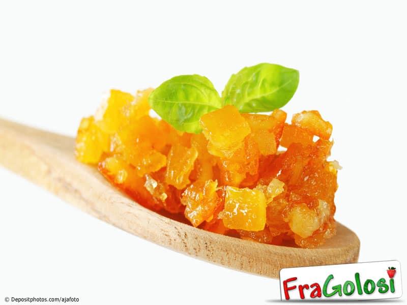 Bucce di arance o di limoni candite