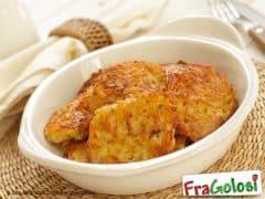 Frittelle con Purea di Patate