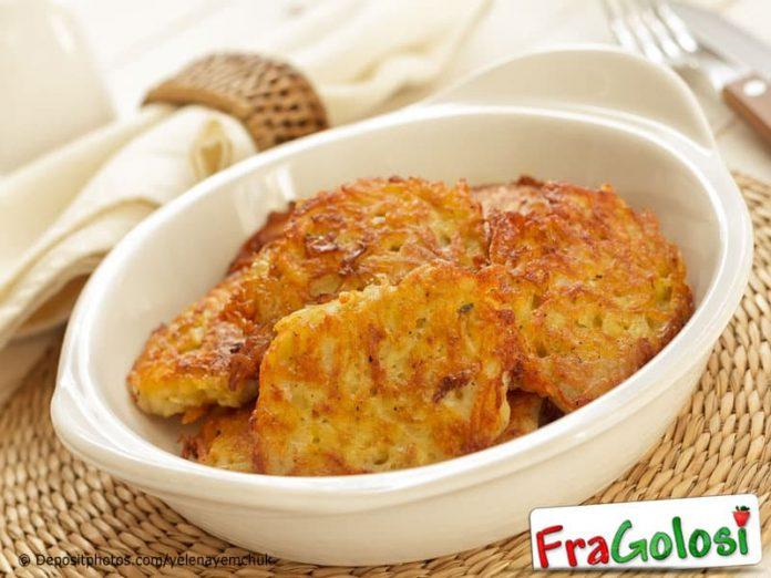 Frittelle di purea di patate