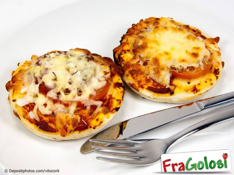 Pizzette mignon al prosciutto e funghi