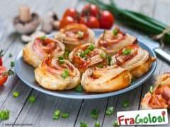 Pizzette Mignon di Pasta Sfoglia