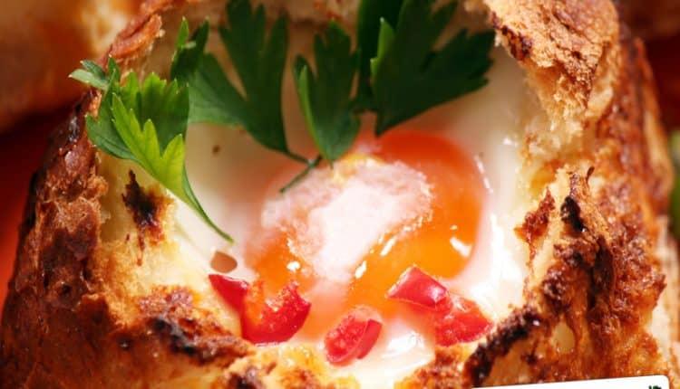 Uova al cartoccio