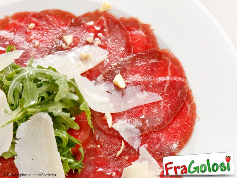 Carpaccio di filetto Light