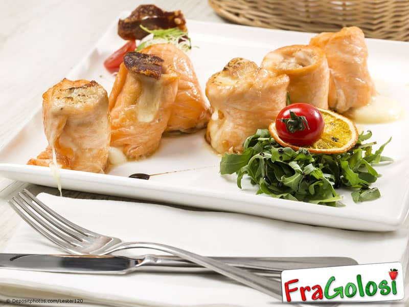 Involtini di dentice alla Messinese