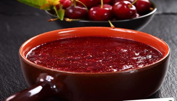 Salsa dolce alle ciliegie