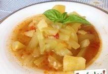 Zucchina lunga al sapore di Sicilia