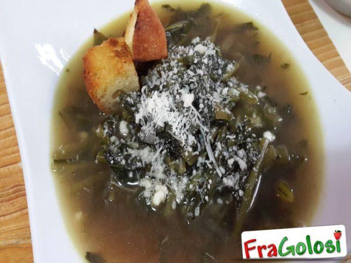 Zuppa di Cicoria e Porri