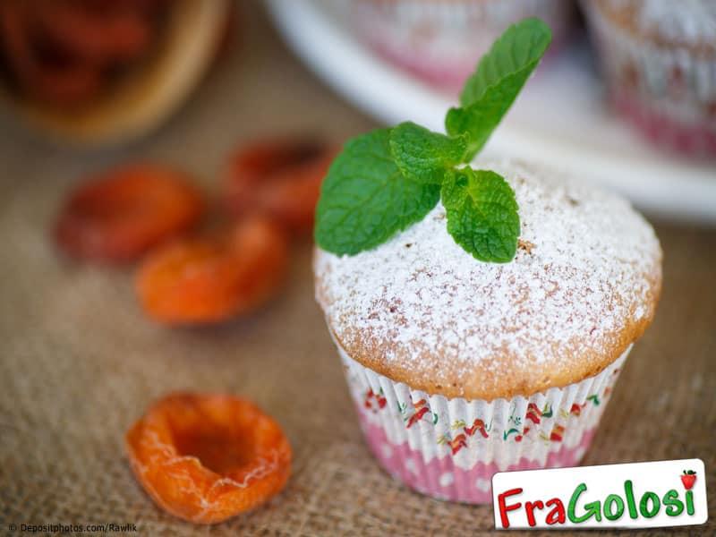 Muffins alle albicocche secche