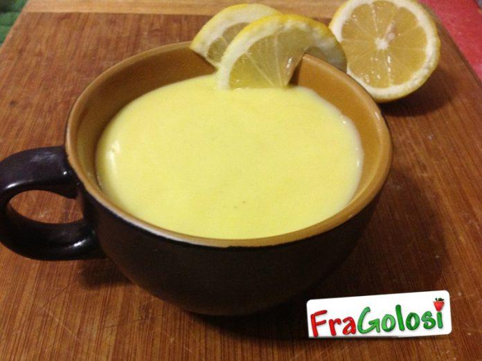 Salsa dolce al limone