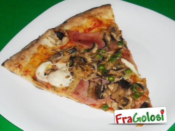 Pizza capricciosa alla catanese