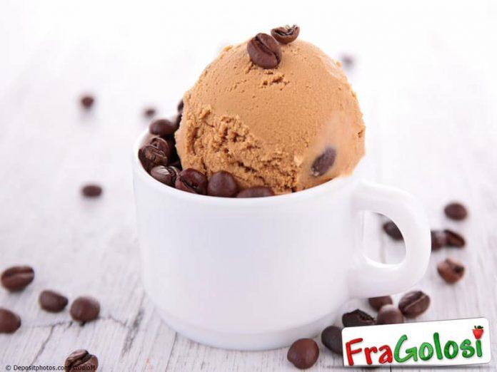 Gelato con chicchi di caffè