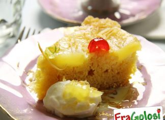 Torta di ananas