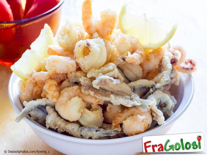 Gran fritto di pesce