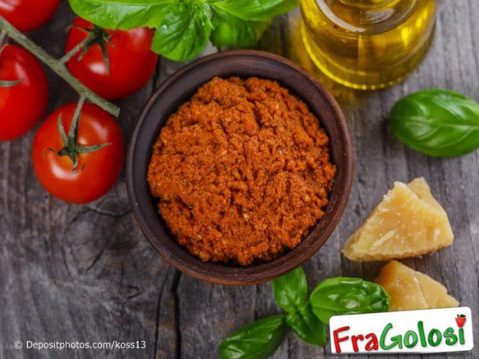 Pesto alla trapanese Pistu alla Trapanisa