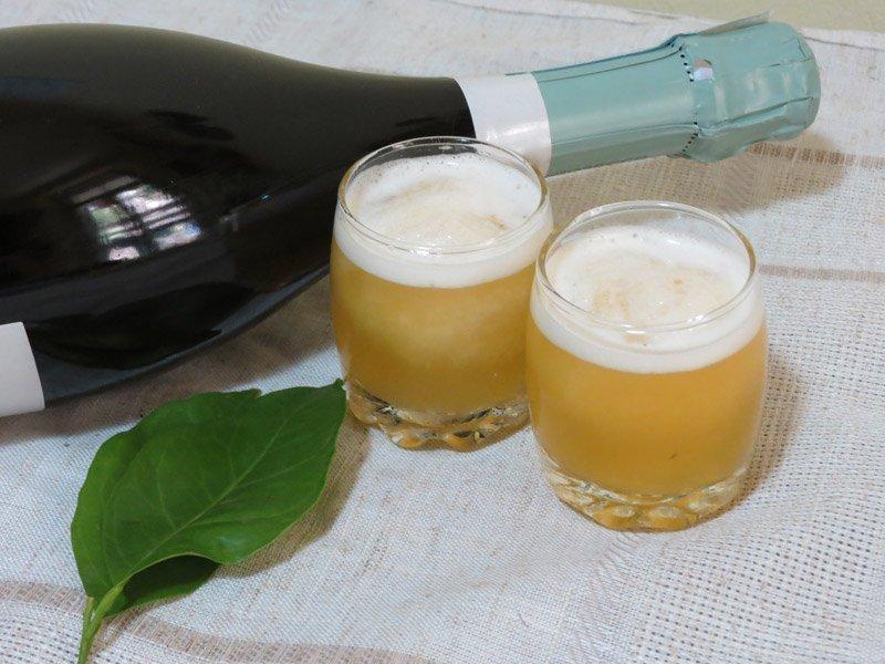 Sorbet Champagne all'Arancia