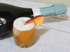 Sorbet Champagne alla Pesca