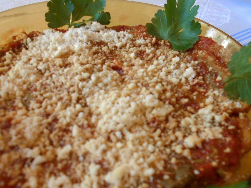 Tortino di Parmigiana di Zucchine